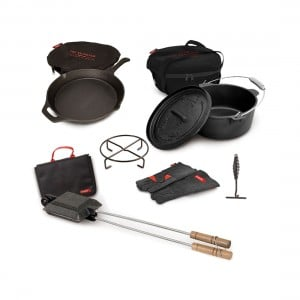 Campfire Cast Iron Boxed Pack