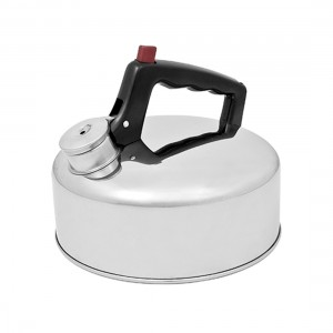Campfire Whistling Stainless Steel Camp Kettle