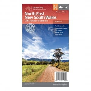 A.B.C Maps North East New South Wales 8th Edition - Waterproof
