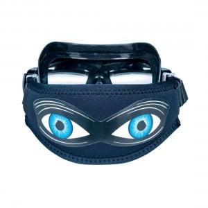 Shark Eyes Dive Mask Strap Cover