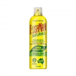 Bushman Naturals Lemon Eucalyptas 145ml Aerosol Free Pump Spray