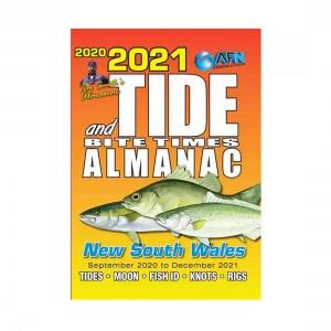 AFN 2021 State Tide Almanac & Bite Times Guide