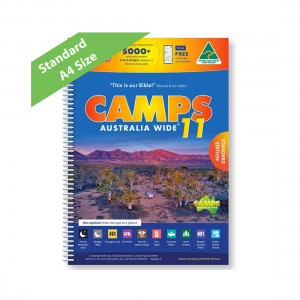 Camps Australia Wide Spiral Bound 11th Edition - A4