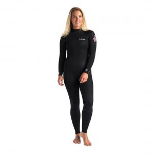 C-Skins Surflite 3x2 Womens GBS Steamer Back Zip