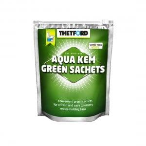 Thetford Aqua Kem Concentrated Green Sachets 12 Pack
