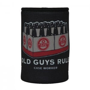 Old Guys Rule Case Worker Drink Holder
