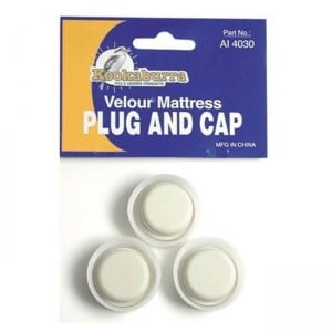 Kookaburra Velour Air Bed Plug & Cap
