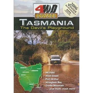 4WD Travel Guides DVD - Tasmania The Devils Playground