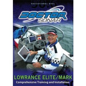 Doctor Sonar Educational DVD - Lowrance Elite / Mark Series