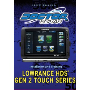 Doctor Sonar Educational DVD - Lowrance HDS Gen 2 Touch Series