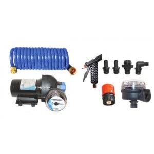 Jabsco 4.0 Washdown Pump & Hose Kit