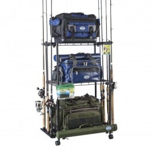 Organised Fishing Tackle Trolley