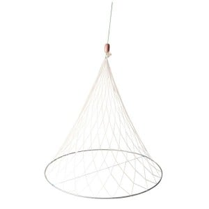 Jarvis Walker The Net Factory 9 Ply Witches Hat Net w/ Float & Rope