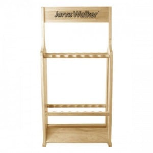 Jarvis Walker Wooden Rod Stand - 16 Rods