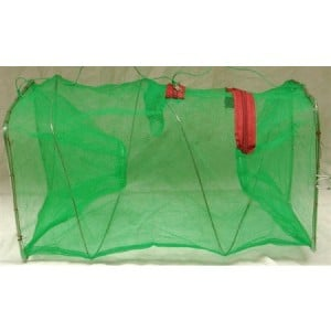 Seahorse Folding Bait Fish Trap - 1 1/2in Entrance