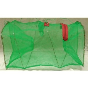 Seahorse Folding Bait Fish Trap - 2in Entrance