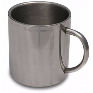 Campfire Stainless Steel Twin Wall Mug