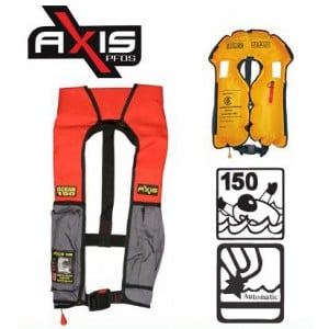 Axis Ocean Automatic PFD Level 150 - Adult - Red