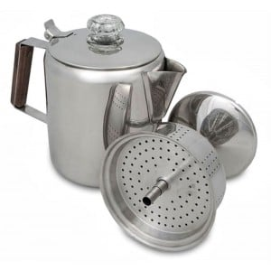 Campfire Stainless Steel Coffee Percolator
