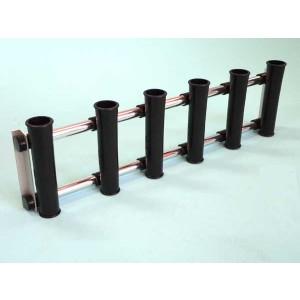 Santmarine Coaming Rod Rack - 6 Rod Holders