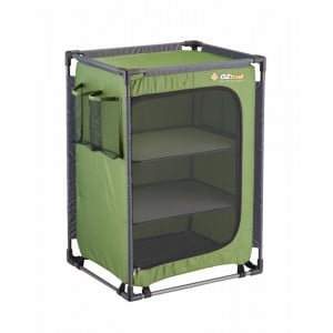 Oztrail 3 Shelf Camp Cupboard