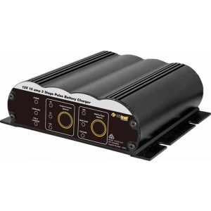 Oztrail 10 Amp 3 Stage Pulse Battery Charger