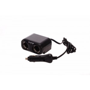 Oztrail 12V 2 Way Power Socket w/ Battery Indicator