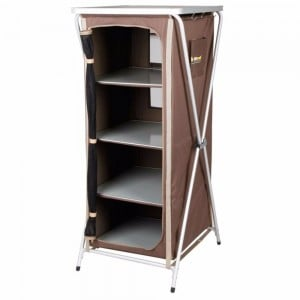 Oztrail 4 Shelf Deluxe Cupboard (D)