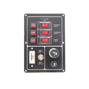 RWB Marine 3 Switch Panel Lighter & Test