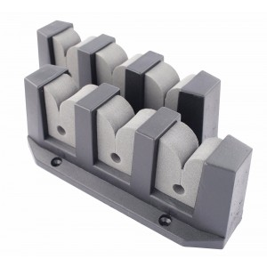 Easterner Horizontal Mount Storage Rod Holder - 3 Rods