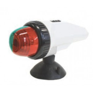 Easterner Port & Starboard LED Bow Nav Light w/ Suction Cup