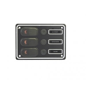 RWB Marine 3 Switch Panel 12V - Waterproof