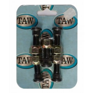 Taw 7/16in Wheel Studs & Nuts Kit