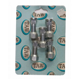 Taw 1/2in Wheel Stud/Nut Kit