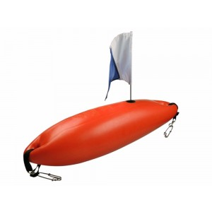 Rob Allen Ridgid Float w/ Flag & Weight - 12 Litre (Foam Filled)