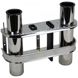 Sam Allen Double Stainless Steel Rod Rack