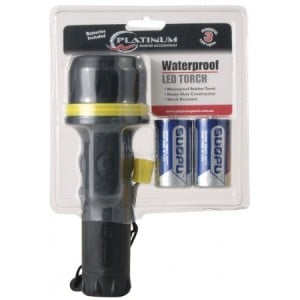 Platinum Water Resistant LED Torch