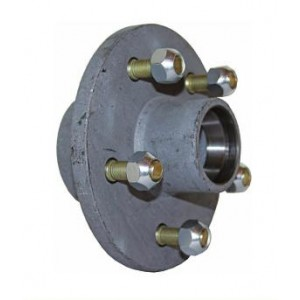 ARC 6in Galvanised Hub w/ Seats & Bearings