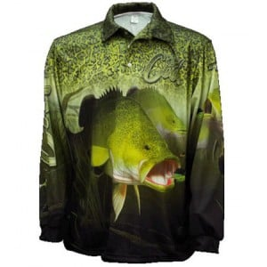 Big Fish Cod Skin Fishing Shirt