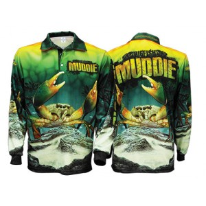 Big Fish Mudcrab Fishing Shirt