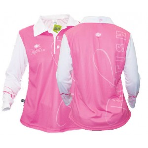Big Fish Ladies Pink Fish Fishing Shirt