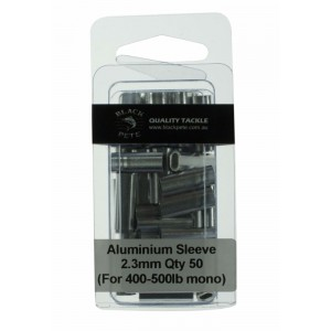 Black Pete Aluminium Sleeves