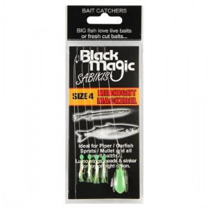 Black Magic Sabiki Rig Midnight Mackerel