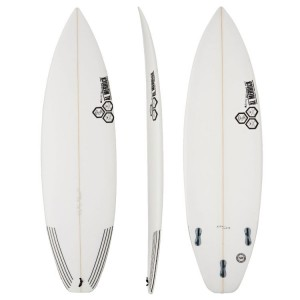 Channel Islands Surfboards Black & White - FCS2 Fins