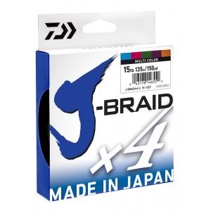 Daiwa J-Braid x4 - 550yd Multi Coloured