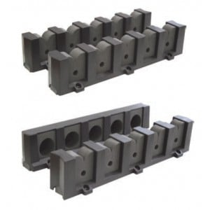 Easterner Storage Rod Holder - 5 Rod Mount