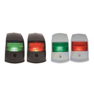 Easterner Port & Starboard Plastic Navigation Lights - 12V