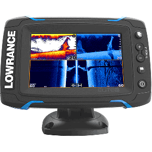 Lowrance Elite 5Ti Combo - Mid/High TotalScan Transducer
