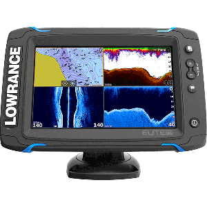Lowrance Elite 7Ti Combo - Mid/High TotalScan Transducer