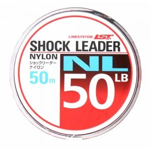 LINE SYSTEM SHOCK LEADER NL 50m 40lb  Fishing LINE From JAPAN
